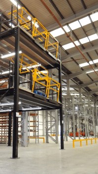 Heavy Duty Steel Warehouse Mezzanine Floor