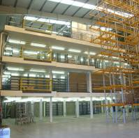 Multi-tier Warehouse Mezzanine Floor