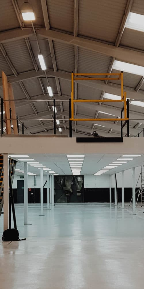 Rokshop Warehouse Mezzanine Floor Photo